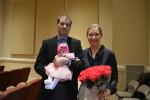 Nicodim & Larisa, baby Sarah